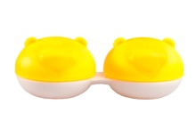 Lens Case - Yellow Bear