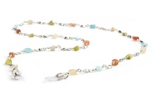 Coloured bead chain K087