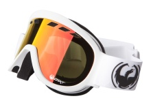 Dragon D1XT 722-2757 Powder Red Snow Goggles