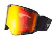 I/S Eyewear Crew Stealth Matte Black Fire Orange Rose