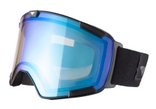 I/S Eyewear Crew Stealth Matte Black Ice Blue Yellow