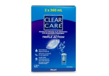 Clear Care Twin Pack