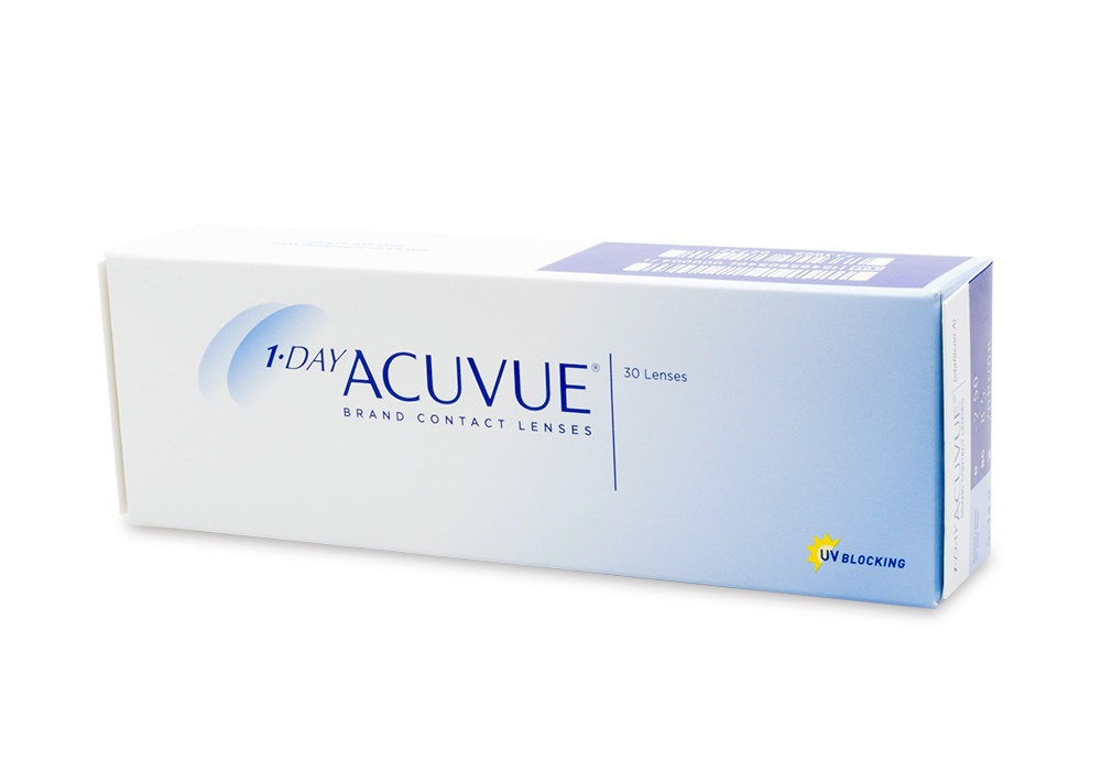 Acuvue Contact Lenses Online 30 Pack Daily - Johnson & Johnson Clearly