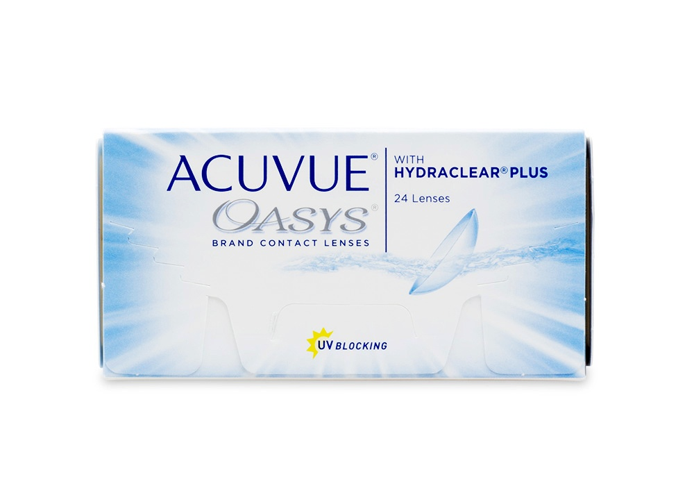 Acuvue Oasys 24 Contact Lenses Online 24 Pack Weekly - Johnson & Johnson Clearly