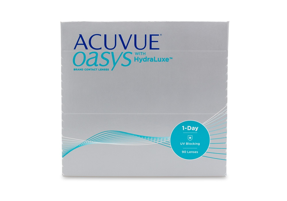 Acuvue Oasys 1 Day Contact Lenses Online 90 Pack Daily - Johnson & Johnson Clearly