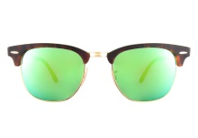 Ray-Ban 3016 114 519 Green Mirror 51