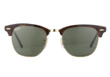 Ray-Ban RB3016 W0366 Clubmaster Tortoise 51