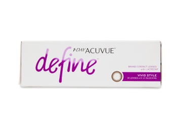 1 Day Acuvue Define Vivid Style 30 pk - price match guarantee on contacts |  Clearly ca