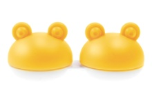 Lens Case - Yellow Frog