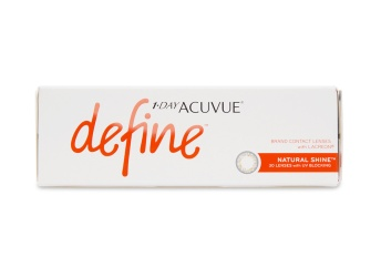 27679c0449b 1 Day Acuvue Define Natural Shine 30 pk - price match guarantee on contacts