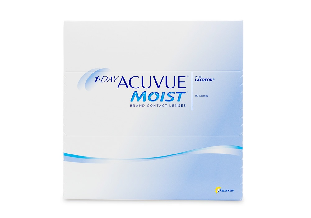 4cf84185101 1 Day Acuvue Moist 90 pk contacts - price match guarantee