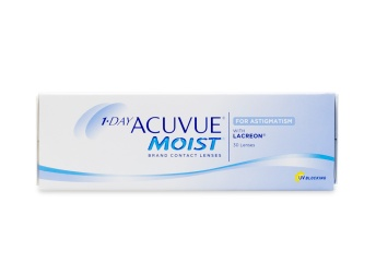 ecf5cb40340 1 Day Acuvue Moist for Astigmatism 30 pk - price match guarantee on contacts