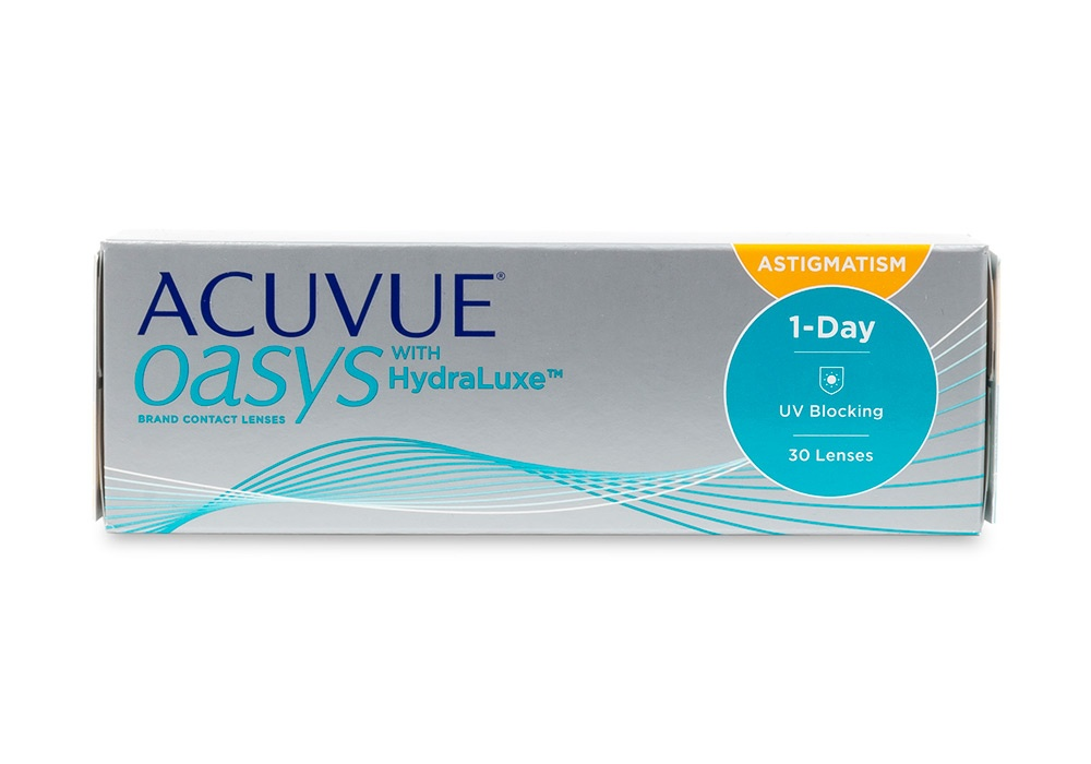 e9ba9e3402ec4 Acuvue Oasys 1-Day for Astigmatism 30 pk - price match guarantee on  contacts