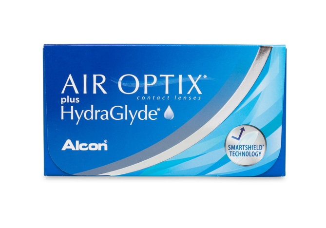 verres de contact Air Optix Plus HydraGlyde
