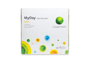 MyDay Toric Contact Lenses (90 pk) - price match guarantee | Clearly